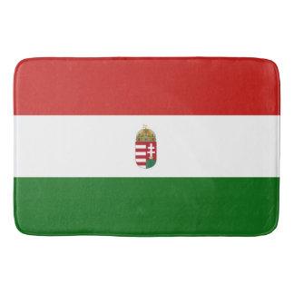 Die Flagge von Ungarn Badematten