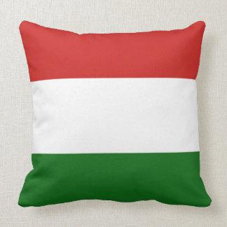 Die Flagge von Ungarn Kissen