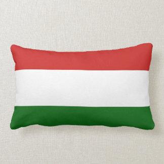 Die Flagge von Ungarn Lendenkissen
