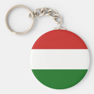Die Flagge von Ungarn Schlüsselanhänger