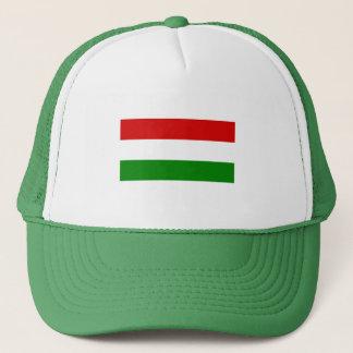 Die Flagge von Ungarn Truckerkappe