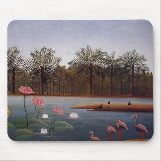 Die Flamingos Mousepad