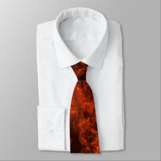 Die Flammen-Hals-Krawatte des Feuerwehrmannes Bedruckte Krawatte