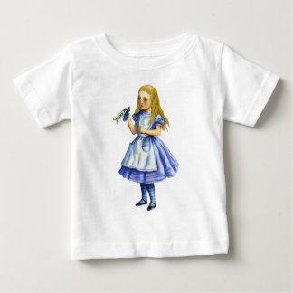 Die Flasche sagte trinken mich, also tat Alice Baby T-shirt