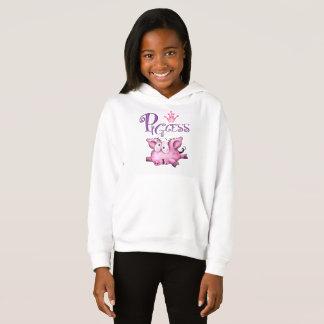 Die Fleece-PulloverHoodie PIGCESS CARTOON Mädchen Hoodie
