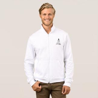 Die Fleece-Ziprüttler-Jacke der heftigen Männer Jacke