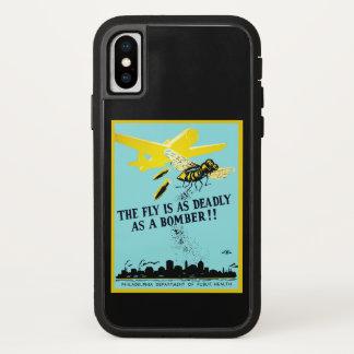 Die Fliege ist so tödlich wie ein Bomber iPhone X Hülle