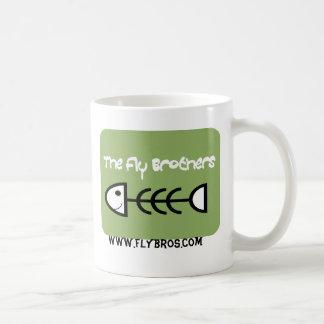 Die Fliegen-Brüder, Fische, Spiel-Funk * Felsen * Kaffeetasse