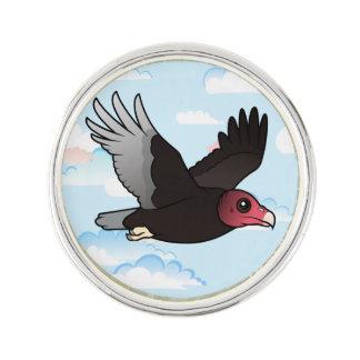 Die Fliegen-Türkei-Geier Anstecknadel