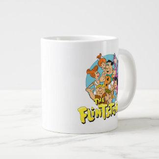 Die Flintstones und die Schutt-Familien-Grafik Jumbo-Tasse