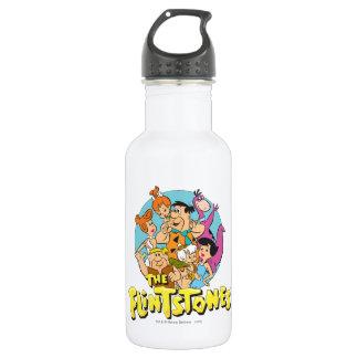 Die Flintstones und die Schutt-Familien-Grafik Trinkflasche