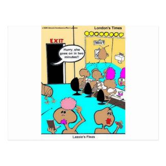 Die Floh-lustige Cartoon-T-Shirts u. Geschenke des Postkarte