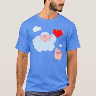Die Flügel des T - Shirt der Liebe-(niedliche