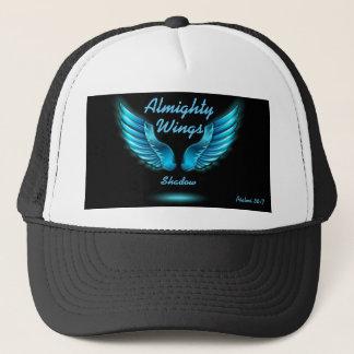 Die Flügel-Schatten-Psalm-36:7 Hut des Gottes Truckerkappe