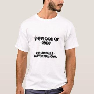 Die Flut von 2008, Cedar Falls u. Waterloo, Iowa T-Shirt