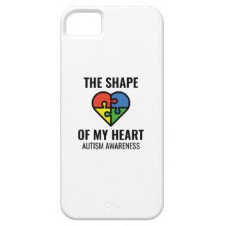 Die Form meines Herzens iPhone 5 Hülle
