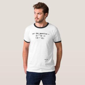 Die Frage T-Shirt