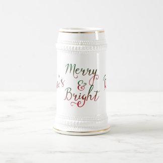 Die frohen und hellen Bier-Weihnachten der Mammas Bierkrug