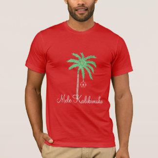 Die frohen Weihnacht-Palme Shirt-Mele Kalikimaka T-Shirt