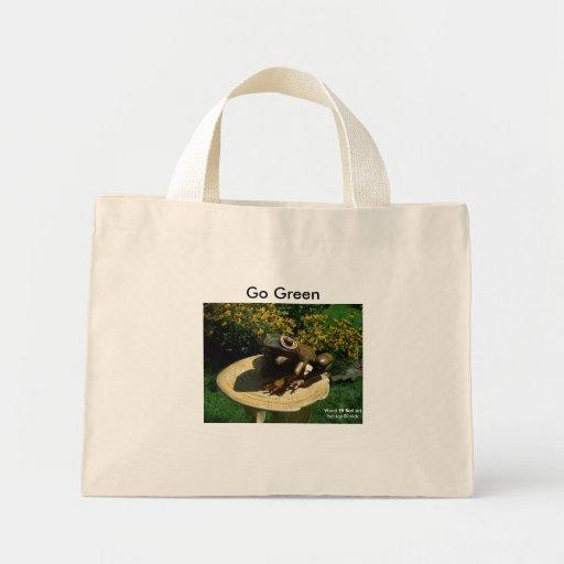 Die Frosch-Auflage-Tasche