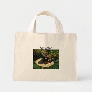 Die Frosch-Auflage-Tasche Mini Stoffbeutel