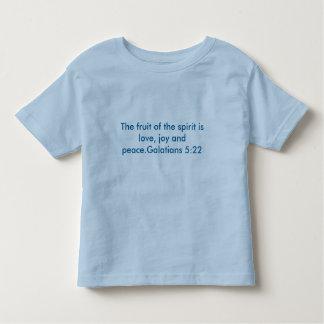 Die Frucht des Geistes ist Liebe, Freude und Kleinkind T-shirt