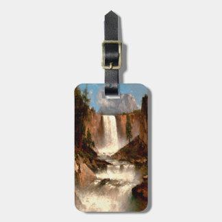 Die frühlingshaften Fälle Thomas-Hügels, Yosemite Gepäckanhänger