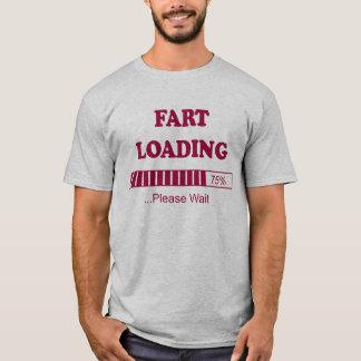 Die Furz, die bitte lädt, warten T-Shirt