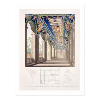 Die Galerie der Psyche am Landhaus Farnesina, Rom Postkarte