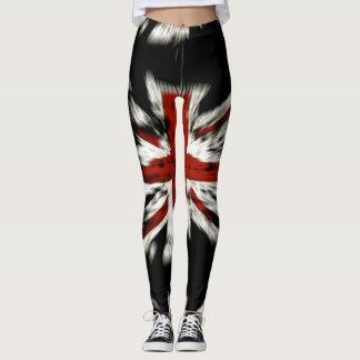 Die Gamaschen der britischen Frauen Leggings