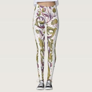 Die Gamaschen der dekorativen Frauen Leggings