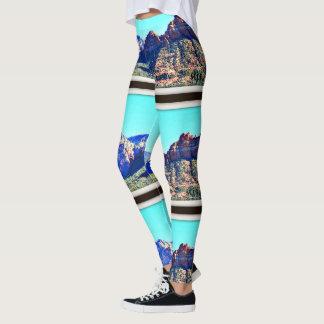 Die Gamaschen der Sedona Gebirgsfrauen Leggings