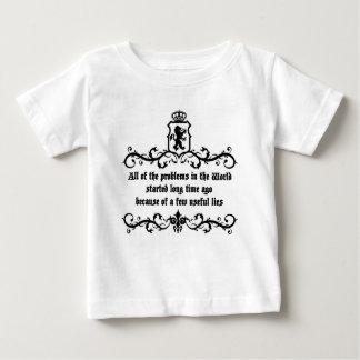 Die ganze er Probleme in der Welt. .quote Baby T-shirt