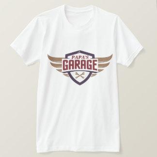 Die Garagen-T-Shirt des Papas T-Shirt