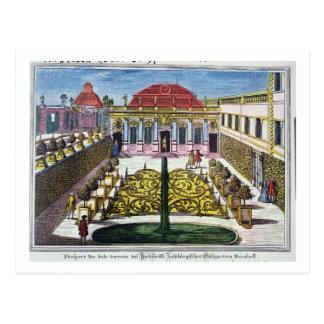 Die Gärten des Mirabellen-Parks, Salzburg, Austr Postkarte