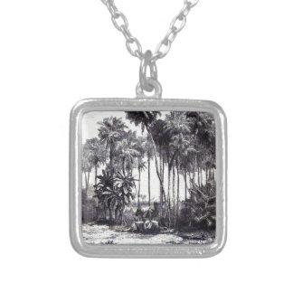 Die Gartenlaube 1857 552 Halskette Mit Quadratischem Anhänger