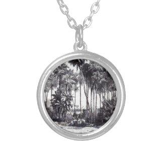 Die Gartenlaube 1857 552 Halskette Mit Rundem Anhänger