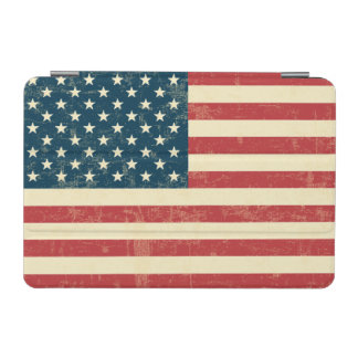 Die gealterte amerikanische Flagge verblaßte iPad Mini Hülle