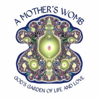 Die Geb5rmutter einer Mutter: Der Garten des Gotte Freistehende Fotoskulptur