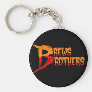 """Die Gebräu-Brüder """"Logo"""" Keychain Schlüsselanhänger"""