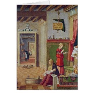 Die Geburt der Jungfrau, 1504-08 Karte