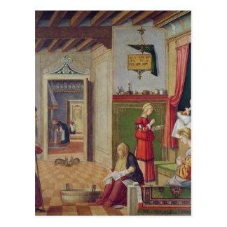 Die Geburt der Jungfrau, 1504-08 Postkarte