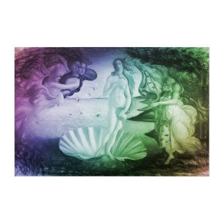 Die Geburt modernen Remakes Venus Acryldruck
