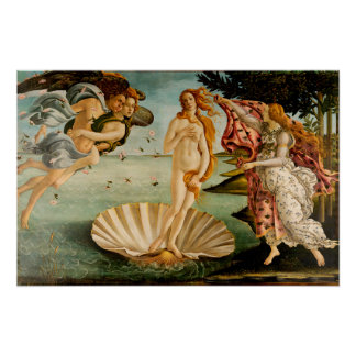 Die Geburt von Venus | Botticelli Poster