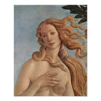 Die Geburt von Venus durch Botticelli, Poster