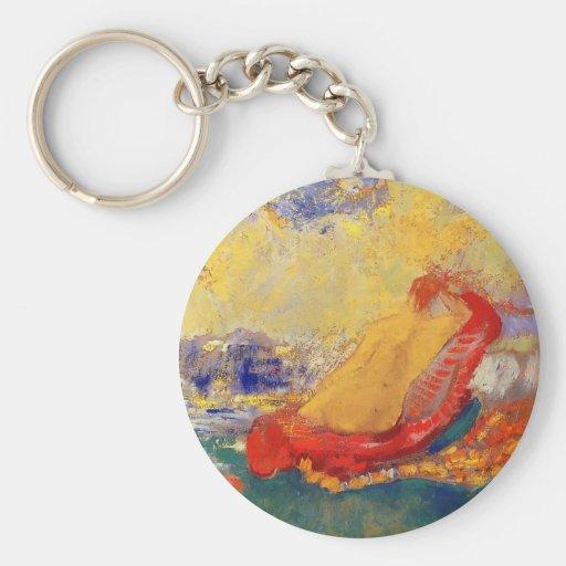 Die Geburt von Venus durch Gustave Moreau Schlüsselanhänger