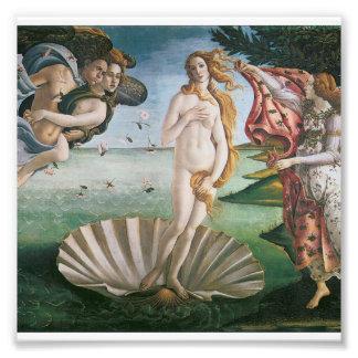 Die Geburt von Venus durch Sandro Botticelli, Fotodruck