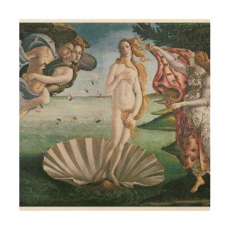Die Geburt von Venus durch Sandro Botticelli, Holzleinwand