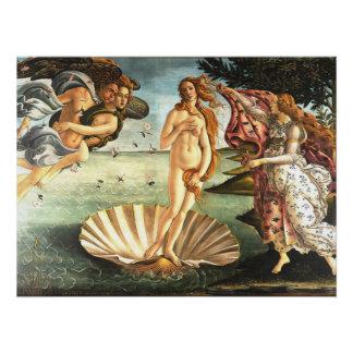 Die Geburt von Venus Poster
