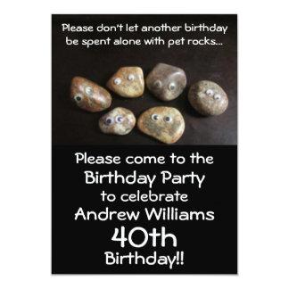 Die Geburtstags-Party-Vorwand-Einladung 12,7 X 17,8 Cm Einladungskarte
